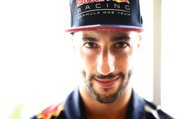 Baku City Circuit, Baku, Azerbaijan. Thursday 22 June 2017. Daniel Ricciardo, Red Bull Racing. World Copyright: Andy Hone/LAT Images ref: Digital Image _ONZ5839