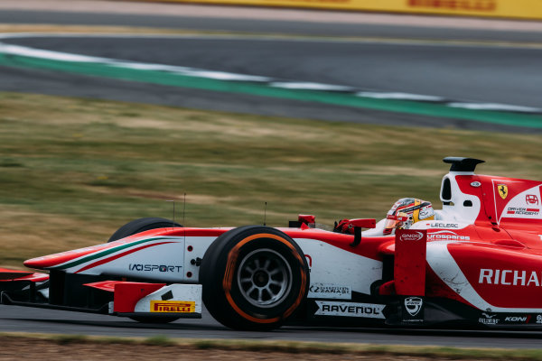 2017 FIA Formula 2 Round 6. Silverstone, Northamptonshire, UK. Sunday 16 July 2017. Charles Leclerc (MCO, PREMA Racing).  Photo: Malcolm Griffiths/FIA Formula 2. ref: Digital Image MALC7742