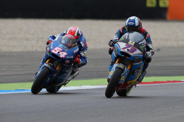2017 Moto2 Championship - Round 8 Assen, Netherlands Sunday 25 June 2017 Alex Marquez, Marc VDS, Mattia Pasini, Italtrans Racing Team World Copyright: David Goldman/LAT Images ref: Digital Image 680222