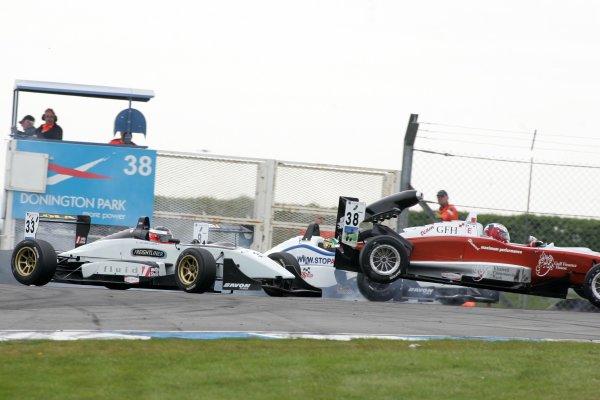 2007 British Formula Three Championship,Donington Park 21st-22nd April 2007,Hamad AL FARDAN (BRN) Performance Racing Dallara HondaWorld copyright: Ebrey/LAT Photographic.