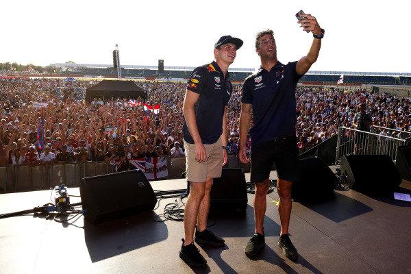 Max Verstappen, Red Bull-Renault and Daniel RicciardoRed Bull-Renault