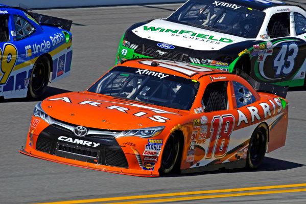 20-21 February, 2015, Daytona Beach, Florida USA Daniel Suarez, Arris Toyota Camry ?2015, F. Peirce Williams LAT Photo USA