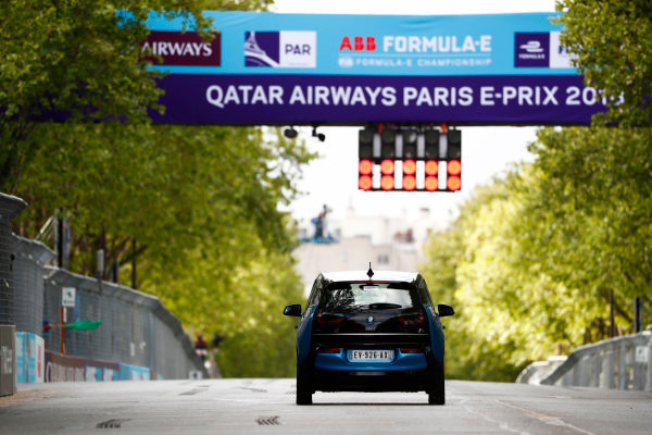 BMW i3 Race Control.
