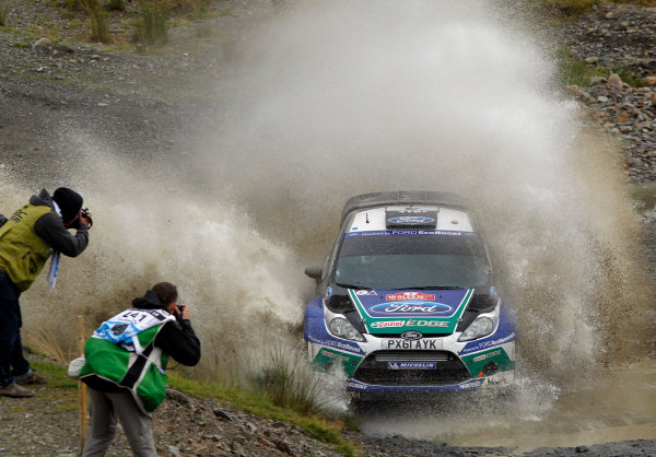 Round 10- Wales Rally GB 12-16/9- 2012.Petter Solberg, Ford WRC, Action.Worldwide Copyright: McKlein/LAT
