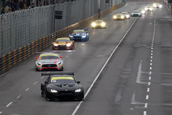 2015 FIA GT World Cup Circuit de Guia, Macau, China Sunday 19 November 2017. Augusto Farfus, BMW Team Schnitzer, BMW M6 GT3  World Copyright: Alexander Trienitz/LAT Images ref: Digital Image 2017-Macau-GP-AT1-3620