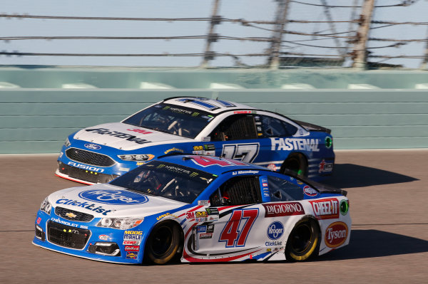 Monster Energy NASCAR Cup Series Ford EcoBoost 400 Homestead-Miami Speedway, Homestead, FL USA Sunday 19 November 2017 AJ Allmendinger, JTG Daugherty Racing, Kroger ClickList Chevrolet SS World Copyright: Matthew T. Thacker LAT Images