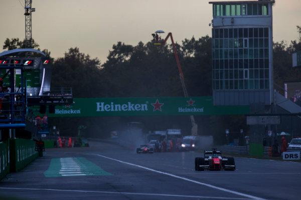 2017 FIA Formula 2 Round 9. Autodromo Nazionale di Monza, Monza, Italy. Saturday 2 September 2017. Sergio Sette Camara (BRA, MP Motorsport).  Photo: Zak Mauger/FIA Formula 2. ref: Digital Image _T9I0658