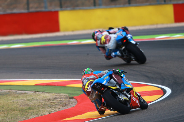 2017 Moto2 Championship - Round 14 Aragon, Spain. Friday 22 September 2017 Franco Morbidelli, Marc VDS World Copyright: Gold and Goose / LAT Images ref: Digital Image 693614