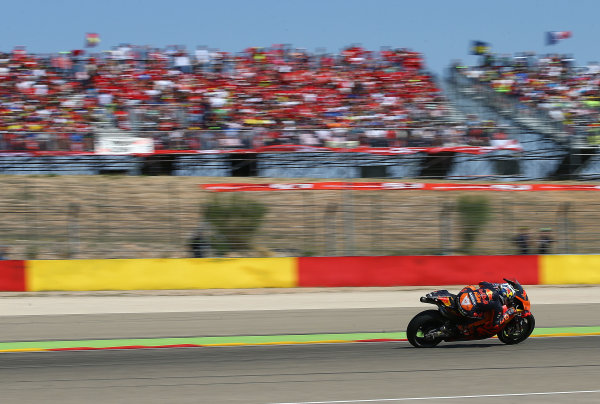 2017 MotoGP Championship - Round 14 Aragon, Spain. Saturday 1 January 2000 Pol Espargaro, Red Bull KTM Factory Racing World Copyright: Gold and Goose / LAT Images ref: Digital Image 14173
