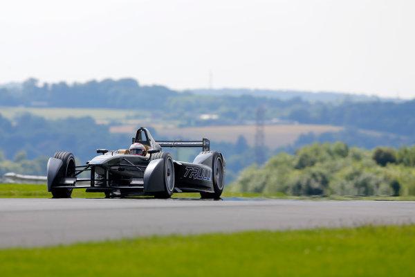 FIA Formula E Test Day, Donington Park, UK.  9th - 10th July 2014.  Jarno Trulli, Trulli GP. Photo: Adam Warner/FIA Formula E ref: Digital Image _L5R2048