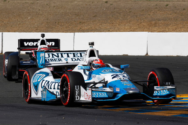 23-24 August, 2014, Sonoma, California USA James Hinchcliffe ? 2014, Perry Nelson LAT Photo USA