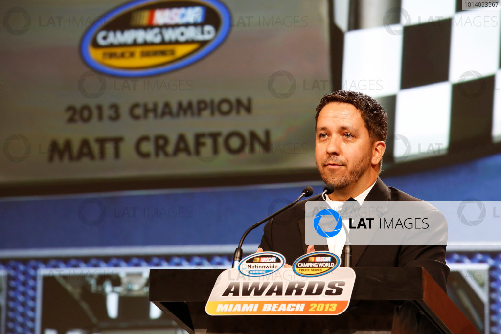 18 November, 2013, Miami Beach, Florida, USA Matt Crafton © 2013, Michael L. Levitt LAT Photo USA