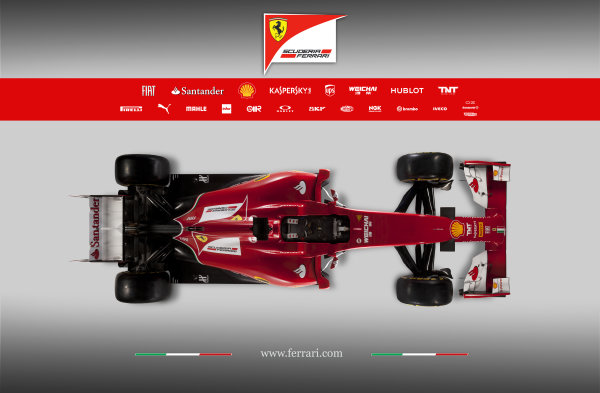 Ferrari F14 T Online Launch Images 25 January 2014 Photo: Ferrari (Copyright Free FOR EDITORIAL USE ONLY) ref: Digital Image 140006eve