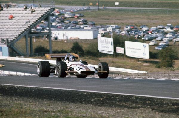 1970 United States Grand Prix. Watkins Glen, New York, USA. 2nd - 4th October 1970. Pedro Rodriguez (B.R.M. P153), 2nd position, action.  World Copyright: LAT Photographic. Ref: 70 USA 03.