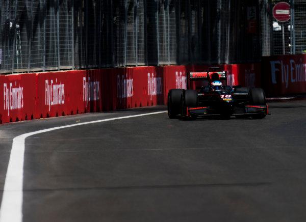 2017 FIA Formula 2 Round 4. Baku City Circuit, Baku, Azerbaijan. Friday 23 June 2017. Nyck De Vries (NED, Rapax)  Photo: Zak Mauger/FIA Formula 2. ref: Digital Image _54I9735