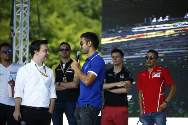 2017 FIA Formula 2 Round 7. Hungaroring, Budapest, Hungary. Saturday 29 July 2017. Nabil Jeffri (MAS, Trident).  Photo: Andy Hone/FIA Formula 2. ref: Digital Image _ONY0715