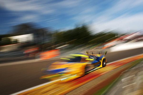 2017 British GT Championship, Spa-Francorchamps, Belgium. 7th - 8th July 2017. Piti Bhirombhakdi / Carlo van Dam Kessel Racing Ferrari 488 GT3. World Copyright: JEP/LAT Images.