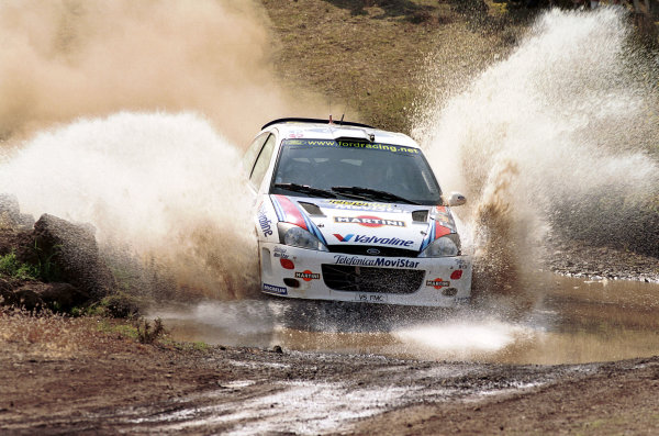 2000 World Rally Championship Round 7, Acropolis Rally Greece 9th -11th June 2000 Colin McRae in action in the Ford Focus. Photo: McKlein