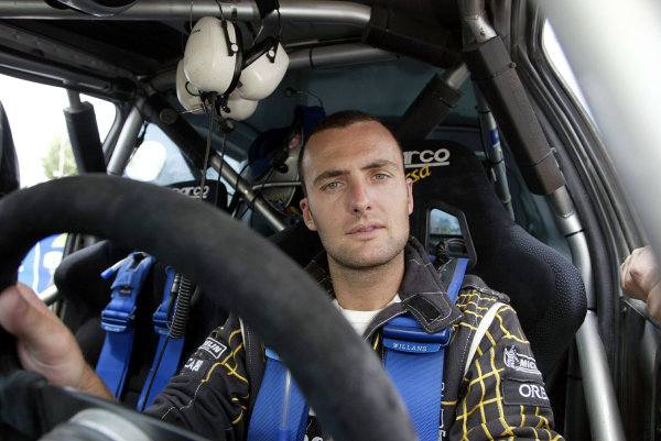 Brice Tirabassi, Renault Clio Super 1600, Acropolis Rally 2003.Photo: McKlein/LAT
