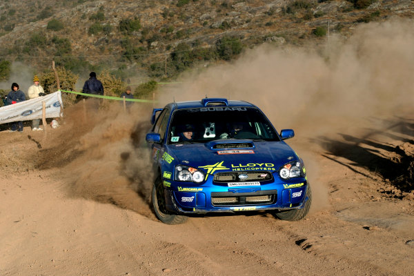 2004 FIA World Rally Championship, Round 8Rally Argentina. 15th-18th July 2004Niall McShea, GrpN Subaru, ActionWorld Copyright: McKlein/LAT Photographic