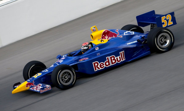 2003 IRL IndyCar Chicagoland Speedway, Chicago, Illinois 8/5-8/7/03 USAAlex BarronWorld Copyright-Walt Kuhn 2003 LAT Photographicref: Digital Image Only