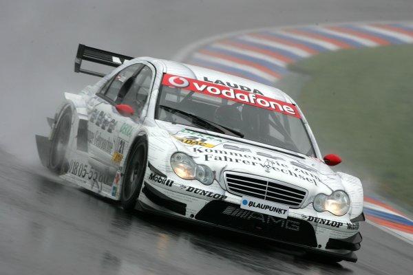2006 DTM Championship.Round 2, Eurospeedway Lausitzring. 28th - 30th April 2006.Mathias Lauda (AUT), Persson Motorsport AMG-Mercedes, AMG-Mercedes C-KlasseWorld Copyright: Miltenburg/xpb cc/LATref: Digital Image Only
