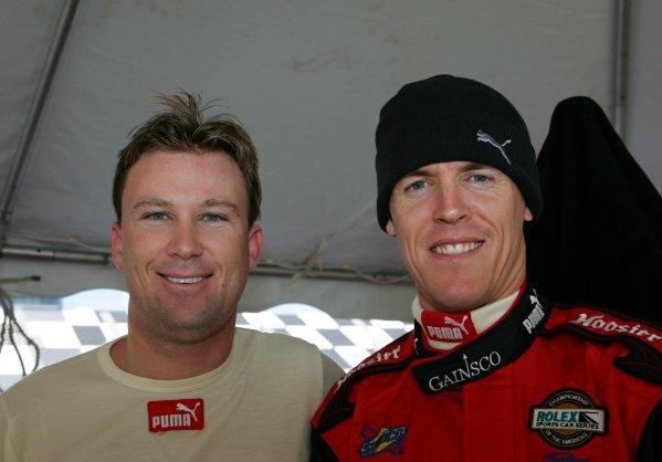 26-29 January 2006, Rolex 24 @  Daytona International Speedway, Daytona Beach, Florida, USARocky Moran, Jr. and Alex GurneyC: 2006, Denis L. Tanney, USALAT Photographic