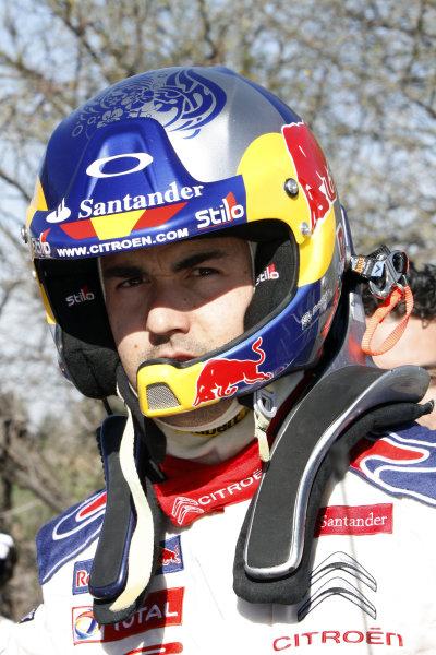 2010 FIA World Rally ChampionshipRound 02Rally Mexico 4-7 Mars 2010Dani Sordo, Citroen WRC, PortraitWorldwide Copyright: McKlein/LAT