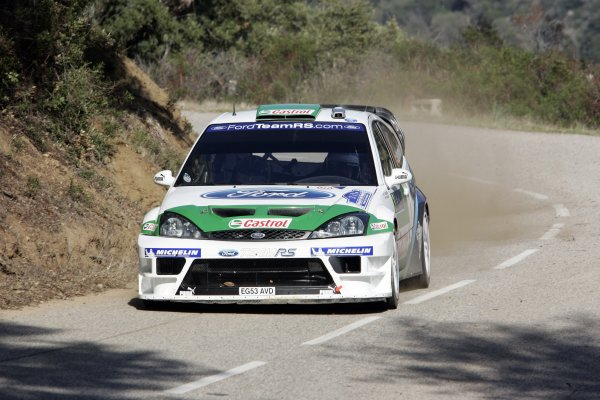2005 FIA World Rally Champs. Round fourteenRallye De France.20th-23rd October 2005.Toni Gardemeister, Ford, Action.World Copyright: McKlein/LAT