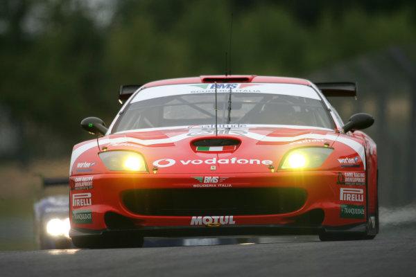2005 Le Mans Test Day5th June 2005Le Mans, FranceCirtek Motorsport (RUS, Ferrari 550 Mananello ) Action. World Copyright: Glenn Dunbar / LAT PhotographicDigital Image Only