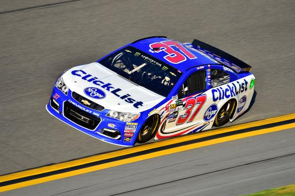 2017 NASCAR Cup - Clash at Daytona Daytona International Speedway, Daytona Beach, FL USA Friday 17 February 2017 Chris Buescher World Copyright: John Harrelson/LAT Images  ref: Digital Image _JH39554