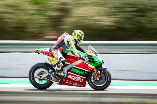 2017 MotoGP Championship - Round 4 Jerez, Spain Friday 5 May 2017 Aleix Espargaro, Aprilia Racing Team Gresini World Copyright: Gold & Goose Photography/LAT Images ref: Digital Image 668016