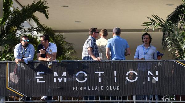 2016/2017 FIA Formula E Championship. Aut?dromo Hermanos Rodr?guez, Mexico City, Mexico Saturday 1 April 2017. Emotion Club Photo: Sam BagnellLAT/Formula E ref: Digital Image DSC_6447