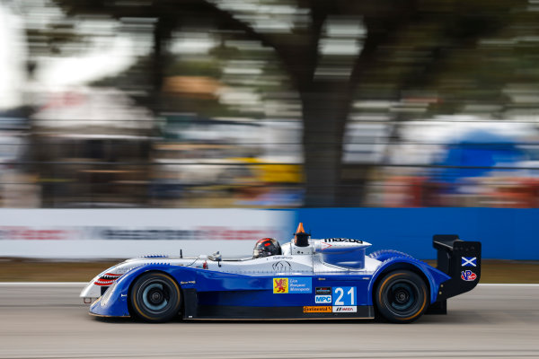2017 IMSA Prototype Challenge Sebring International Raceway, Sebring, FL USA Friday 17 March 2017 21, Stuart Rettie, MPC, Elan DP-02 World Copyright: Jake Galstad/LAT Images ref: Digital Image lat-galstad-SIR-0317-14948