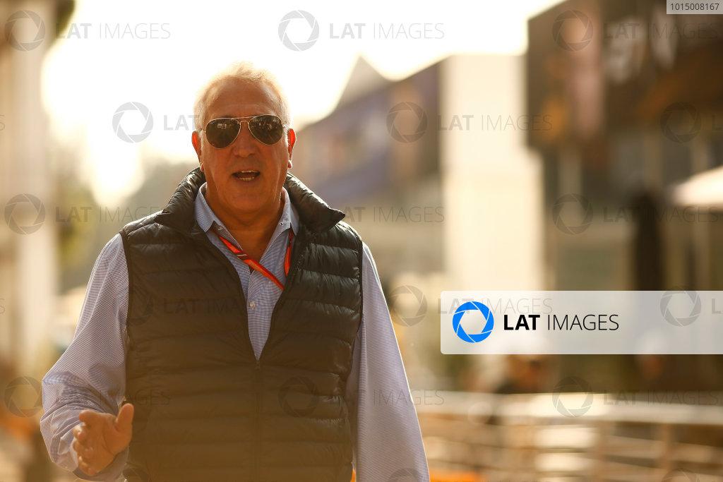 Autodromo Hermanos Rodriguez, Mexico City, Mexico. Sunday 29 October 2017. Lawrence Stroll. World Copyright: Andrew Hone/LAT Images  ref: Digital Image _ONZ2172