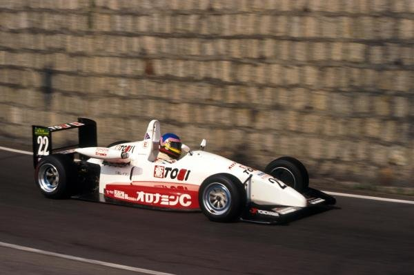 Jacques Villeneuve (CDN) was third in the TOMS's Toyota.