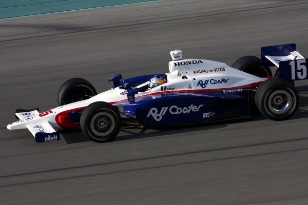 Buddy Rice (USA), Dreyer & Reinbold Racing Dallara Honda.