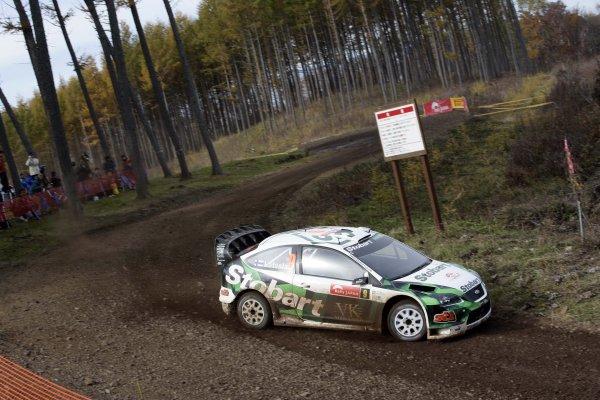 2007 FIA World Rally Champs. Round 14Rally Japan, 25th - 28th October 2007Jari-Matti Latvala, Ford, actionWorld Copyright: McKlein/LAT