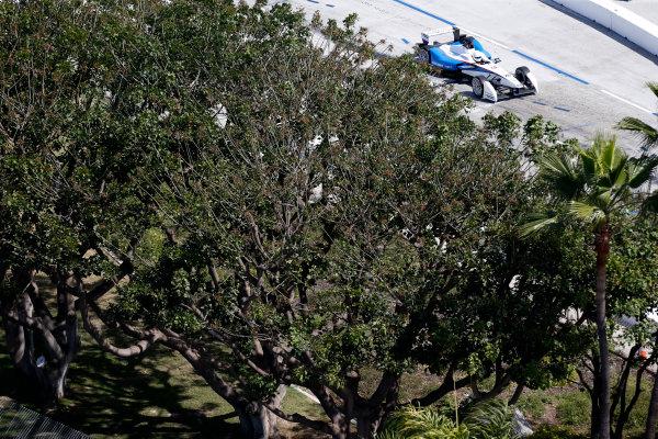 2014/2015 FIA Formula E Championship. Long Beach ePrix, Long Beach, California, United States of America. Friday 3 April 2015 Scott Speed (USA)/Andretti Autosport - Spark-Renault SRT_01E  Photo: Jed Leicester/LAT/Formula E ref: Digital Image _JL20213
