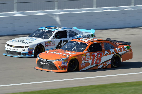 6-7 March, 2015, Las Vegas, Nevada USA Daniel Suarez, Arris Toyota Camry, Brennan Poole ?2015, John Harrelson/LAT Photo USA