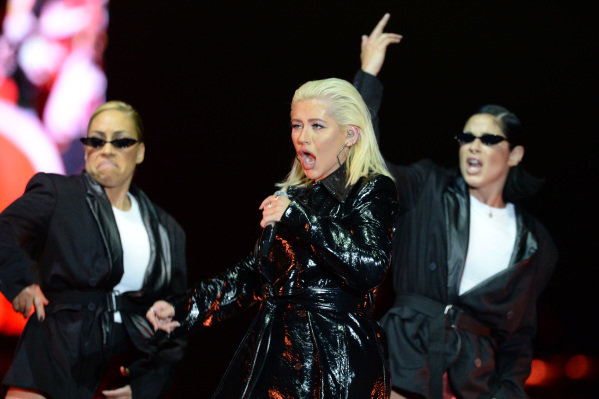Christina Aguilera (USA) in concert