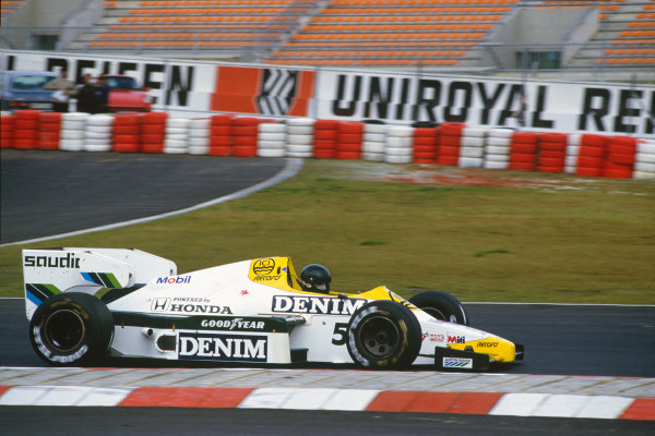 Nurburgring, Germany. 5th - 7th October 1984.