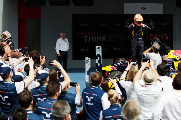 2015 GP2 Series Round 2. Circuit de Catalunya, Barcelona, Spain. Sunday 10 May 2015. Alex Lynn (GBR, DAMS). Photo: Zak Mauger/GP2 Series Media Service. ref: Digital Image _MG_7434