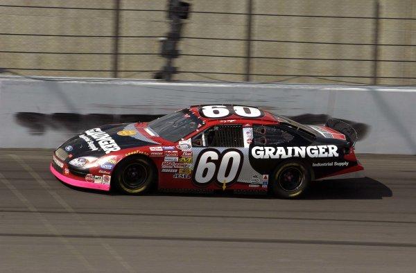 2002 NASCAR,Kansas City,Ks. Sept 26-29, 2002 USA -Greg Biffle at speed leads the BGN series points,Copyright-Robt LeSieur2002LAT Photographic