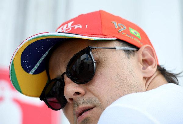 Felipe Massa (BRA), Venturi in the garage