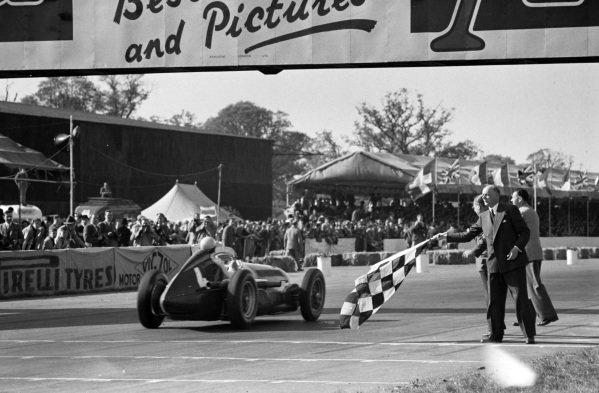 The first World Championship Formula 1 race
