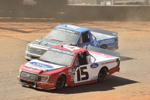 #15: Tanner Gray, Team DGR, Ford F-150 Ford Performance