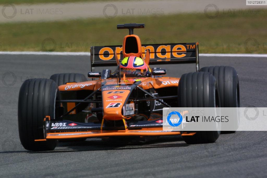 2001 Spanish Grand Prix - PRACTICE