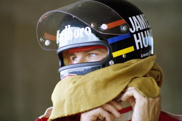 James Hunt.