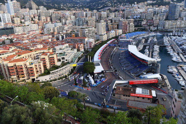 A view of the Monaco circuit.